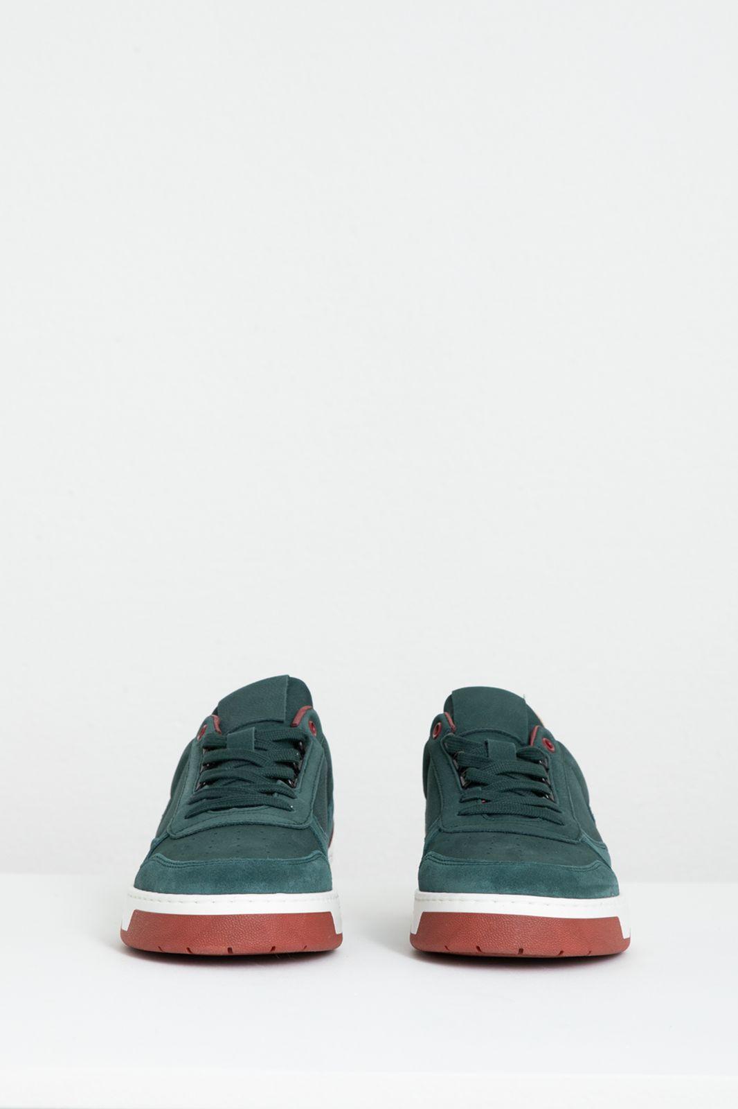 Donkergroene sneakers - Heren | Sissy-Boy