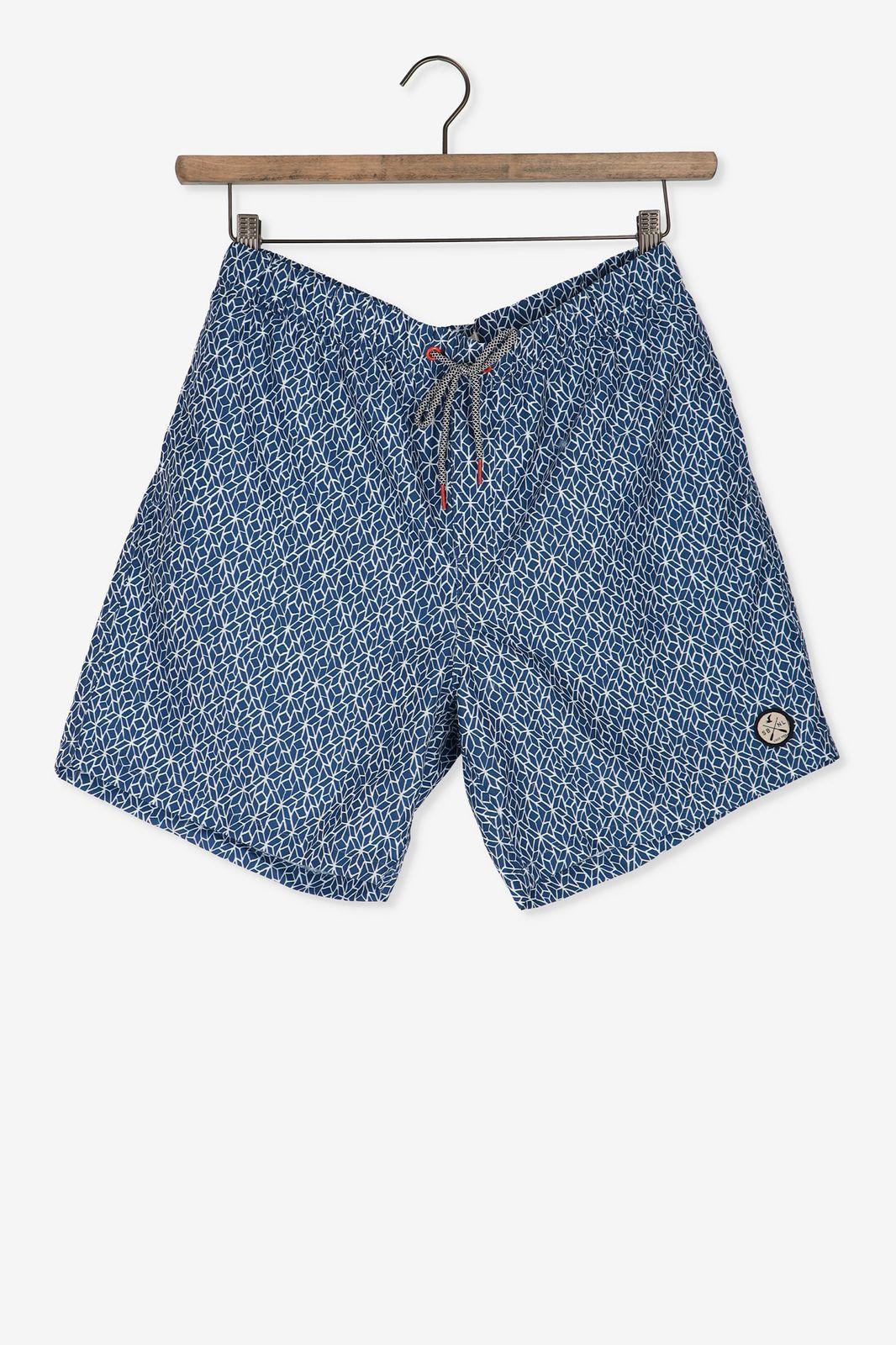 Blauwe zwembroek print - Heren | Sissy-Boy