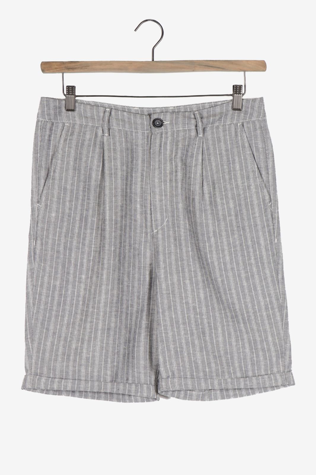 Grijze loose fit chino - Heren | Sissy-Boy