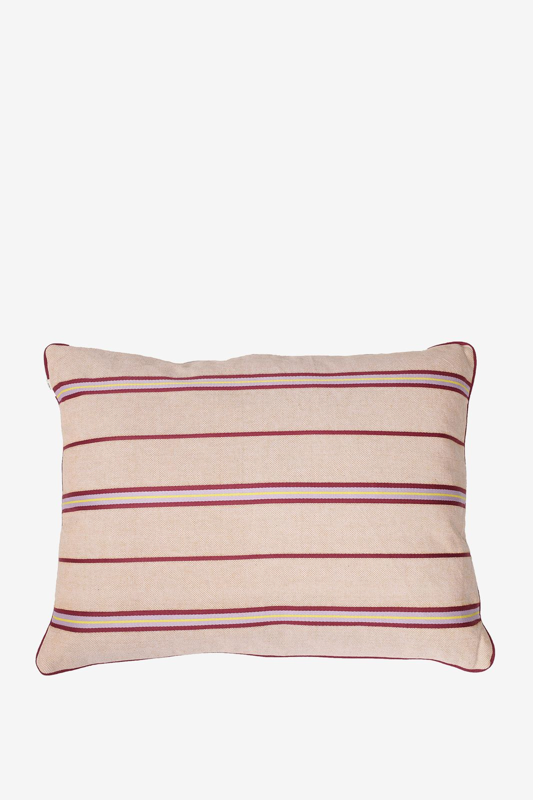 Roze sierkussen met horizontale strepen - Homeland | Sissy-Boy
