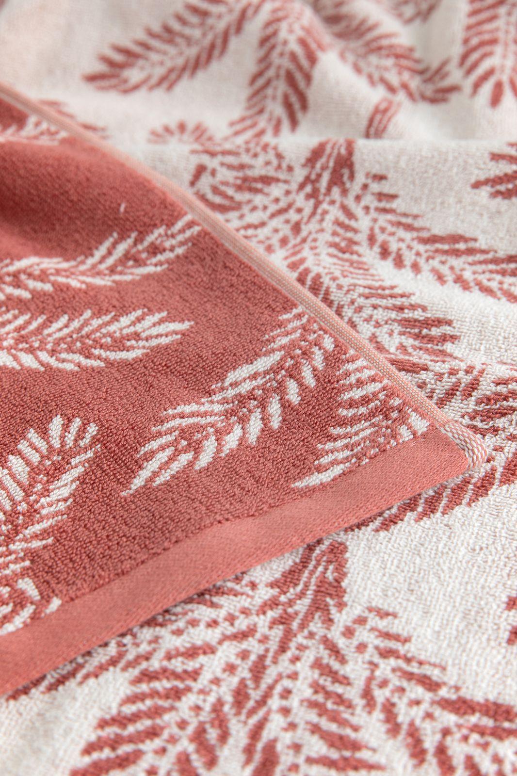Roze handdoek met all over palmprint - Homeland   Sissy-Boy