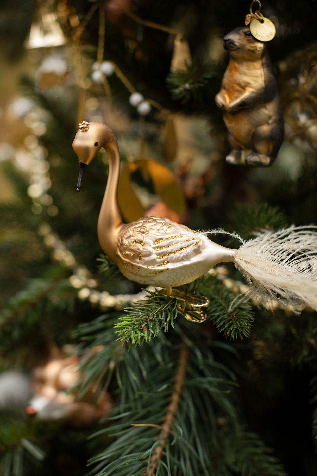 Kerst ornament pauw (25 cm) - Homeland | Sissy-Boy