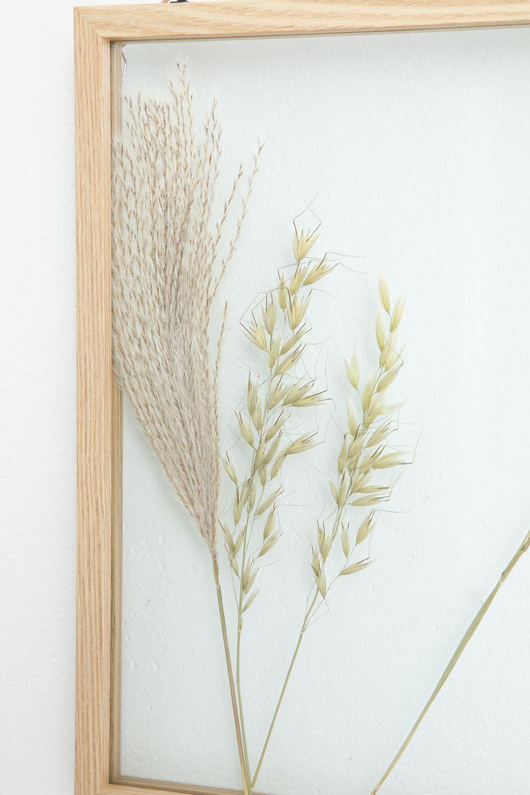 Fotolijst droogbloemen (30x40 cm)
