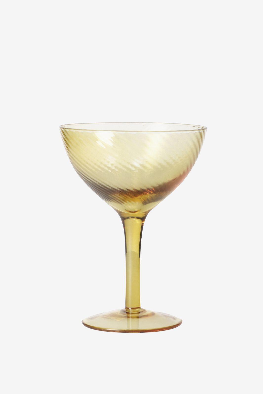 Geel/goud champagne glas - Homeland | Sissy-Boy