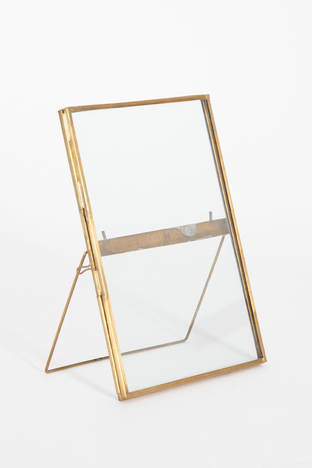 Fotolijst dubbelglas staand (18x13,5 cm)