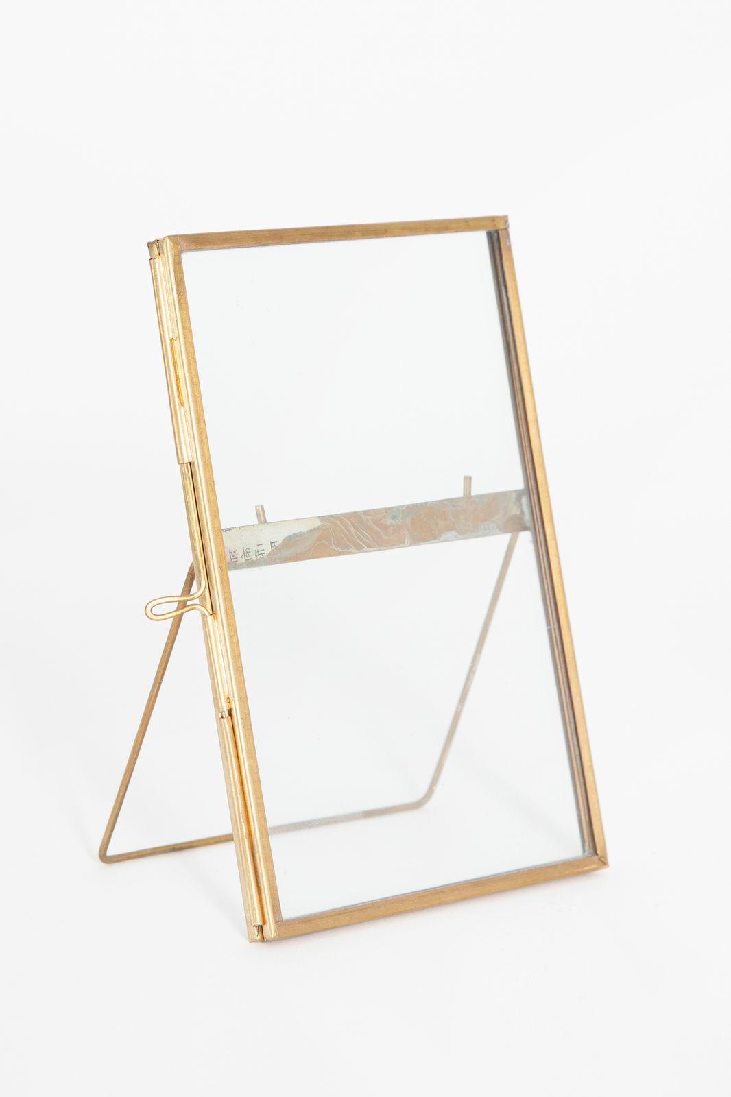 Fotolijst dubbel glas staand (15x9,5 cm) - Homeland | Sissy-Boy