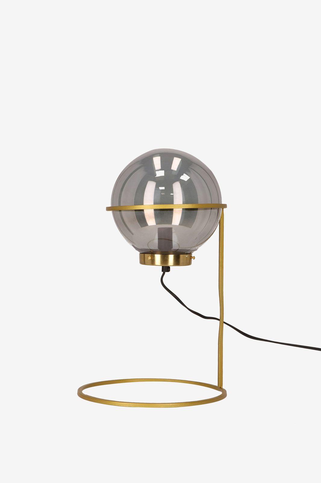 Tafellamp met gouden standaard - Homeland | Sissy-Boy