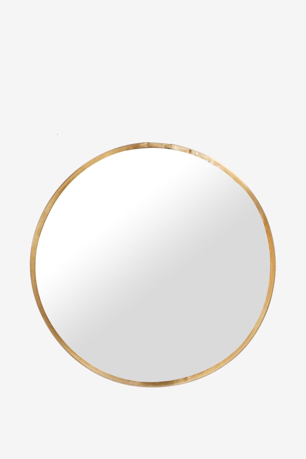 Goudkleurige spiegel rond - Homeland | Sissy-Boy