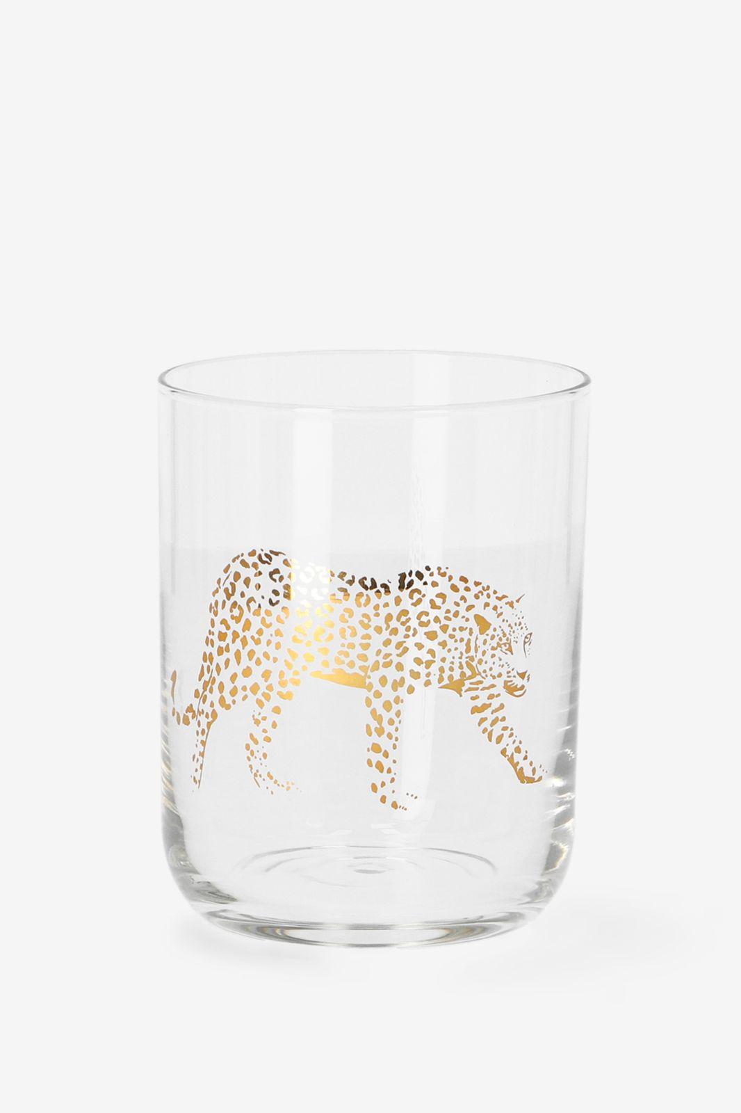 Glas luipaard