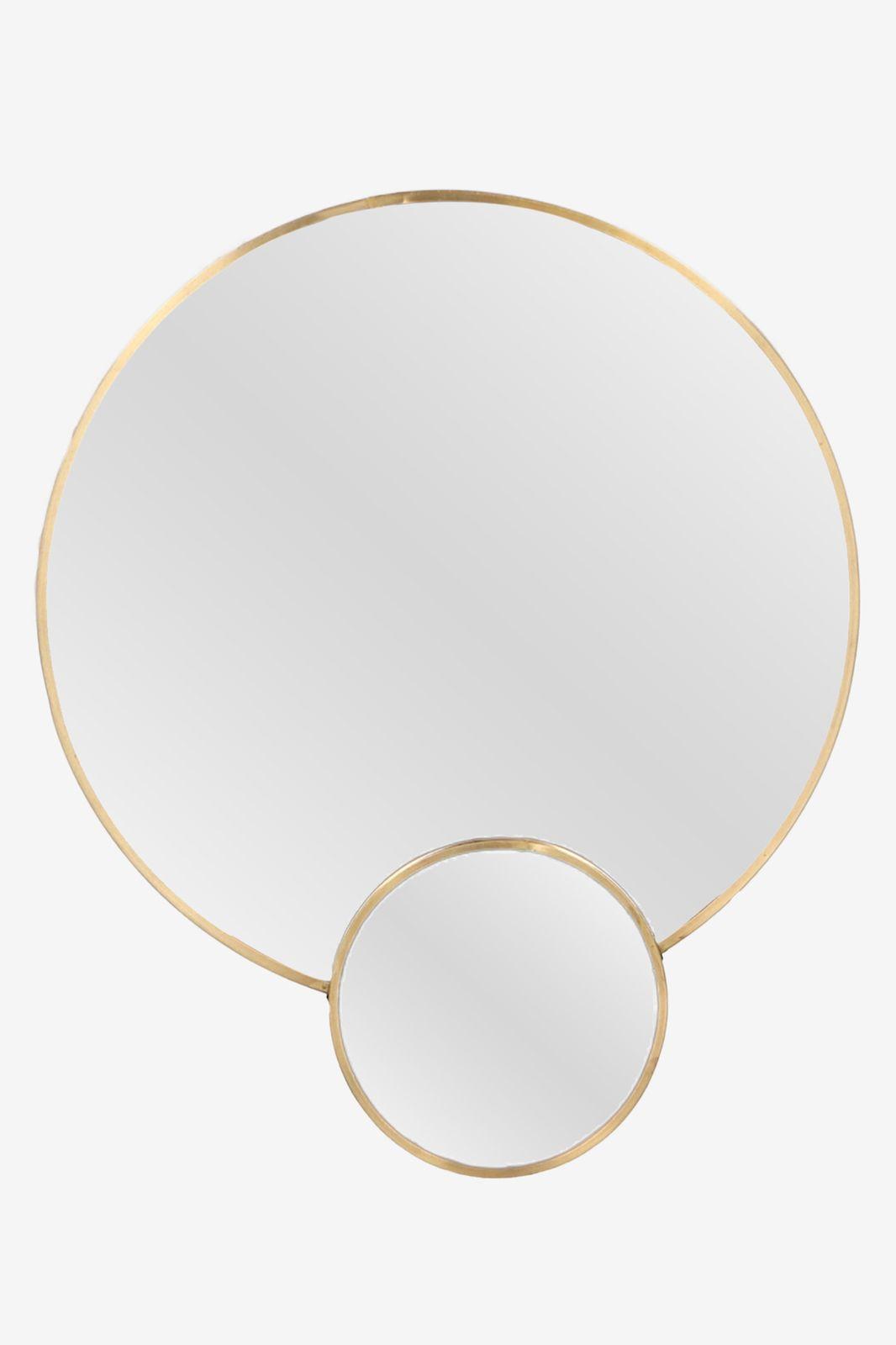 Hangspiegel goud