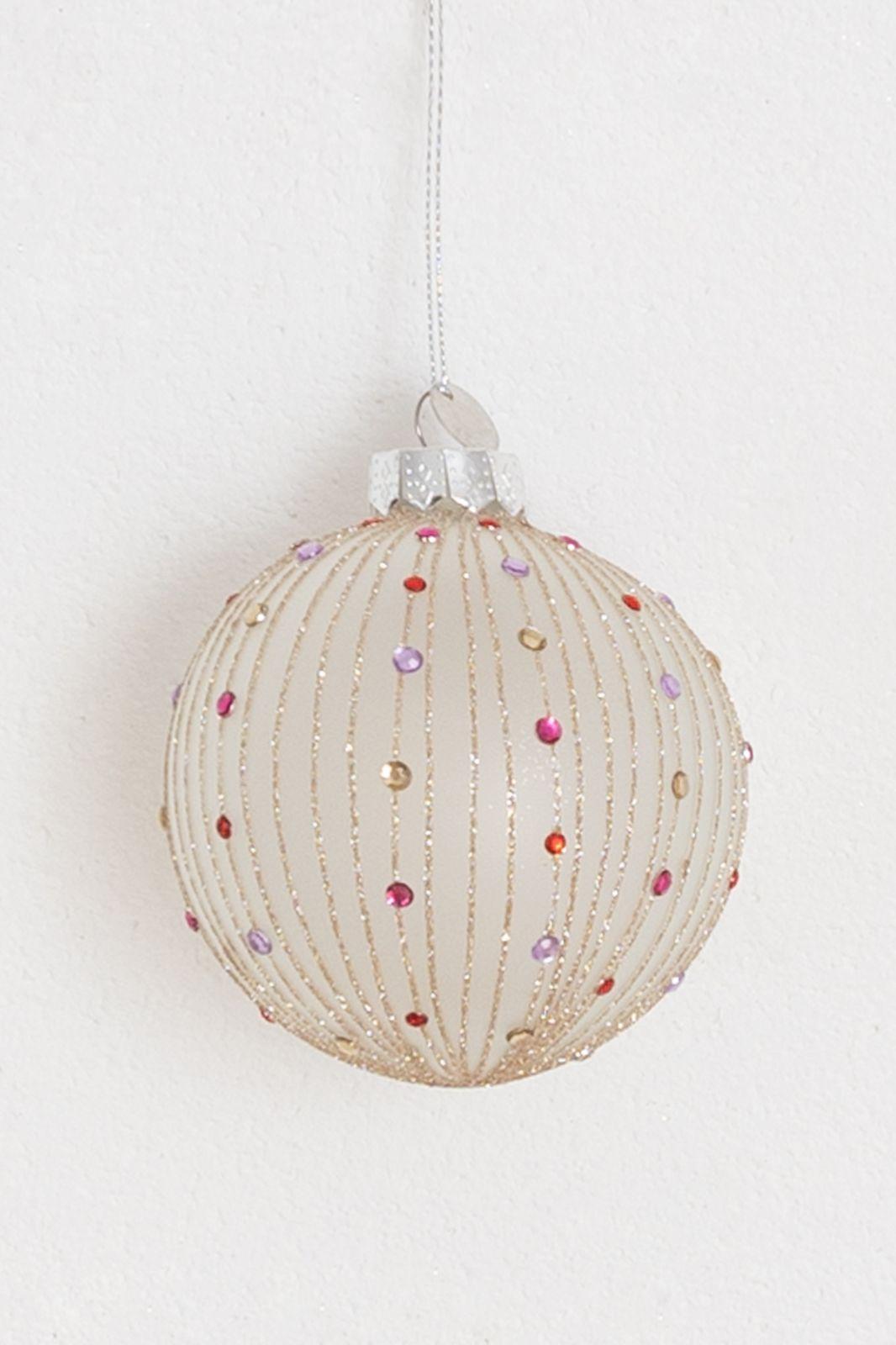 Kerstbal met gekleurde details - Homeland   Sissy-Boy