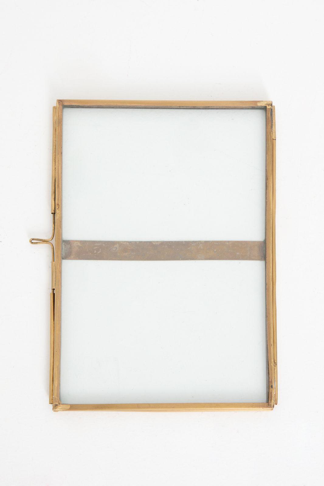 Dubbele fotolijst (13x18 cm)