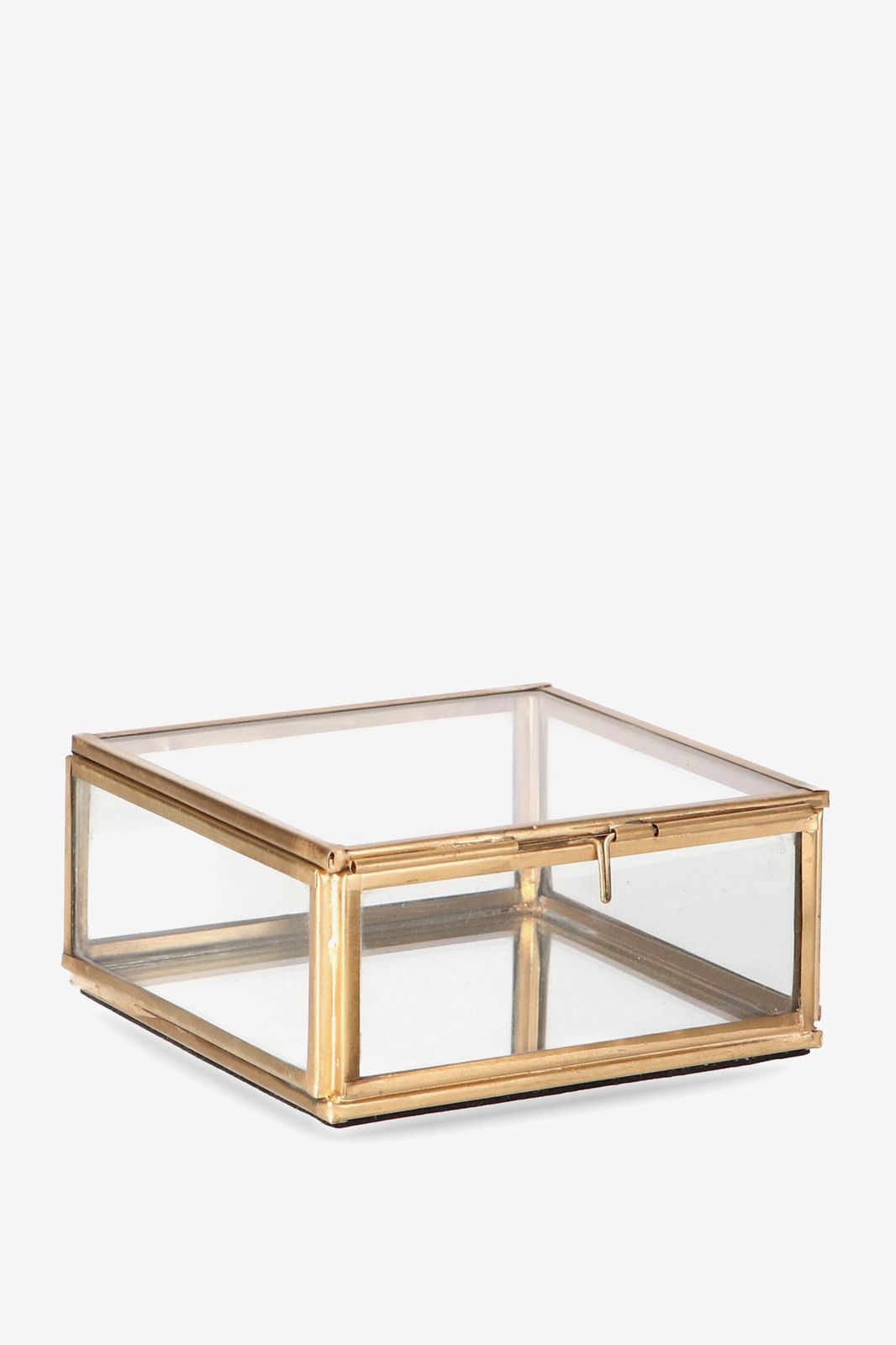 Gouden glazen box vierkant - Homeland   Sissy-Boy