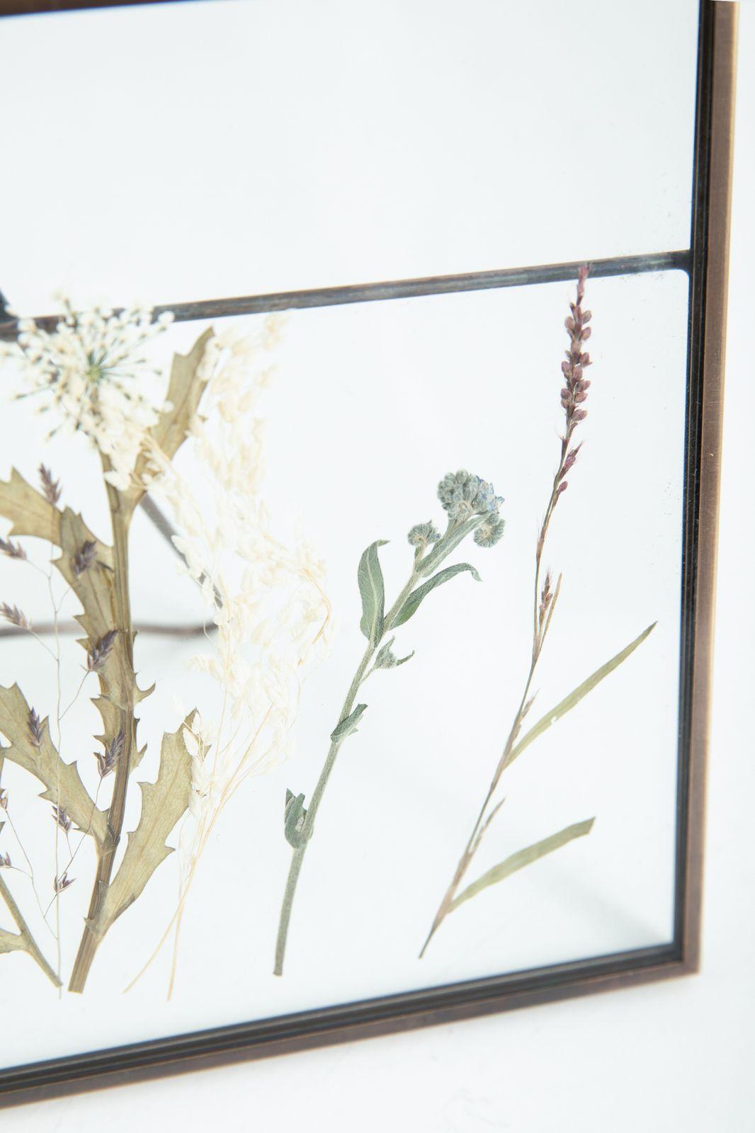 Fotolijst droogbloemen