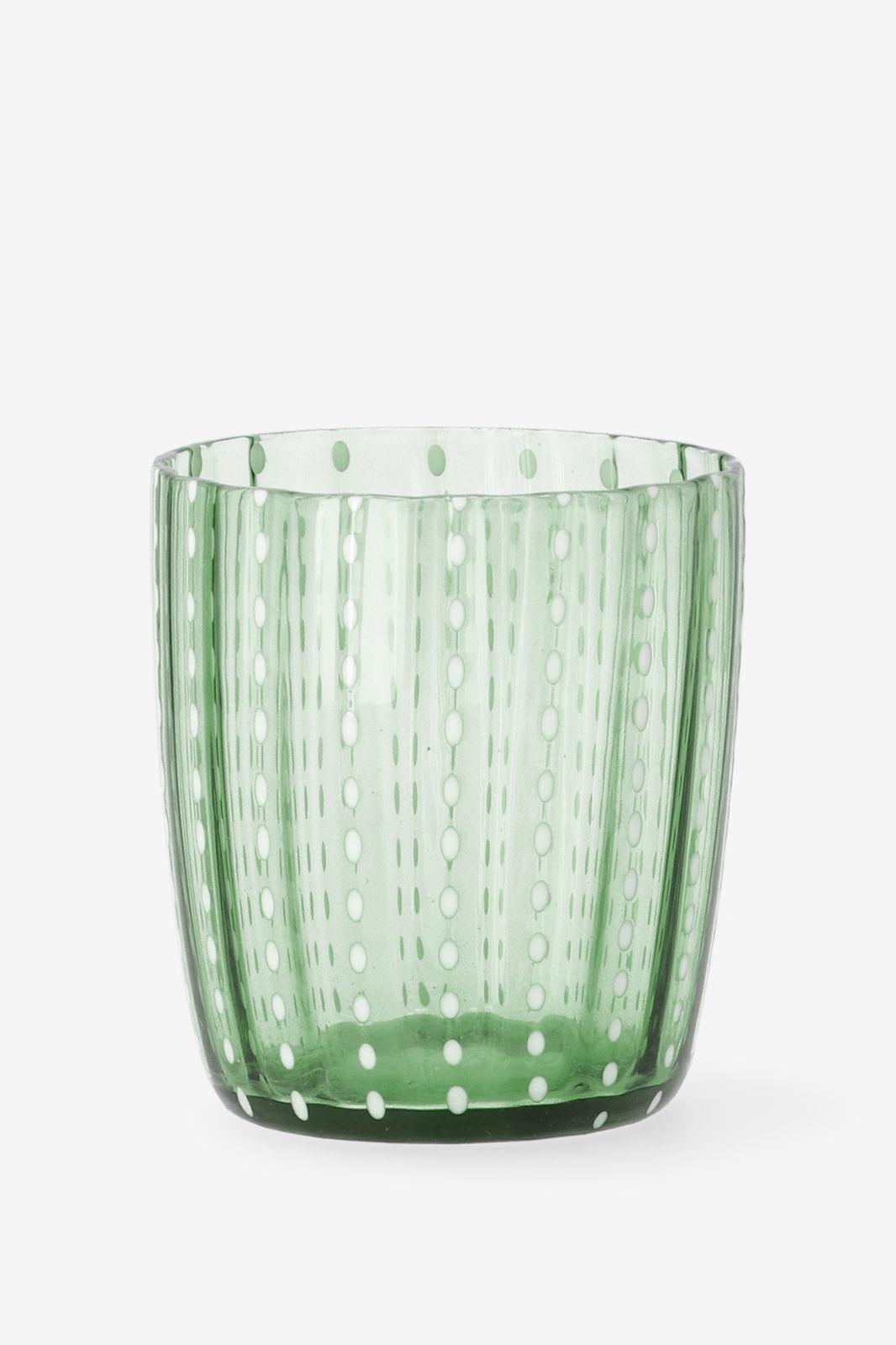 Groen glas met stippen - Homeland   Sissy-Boy