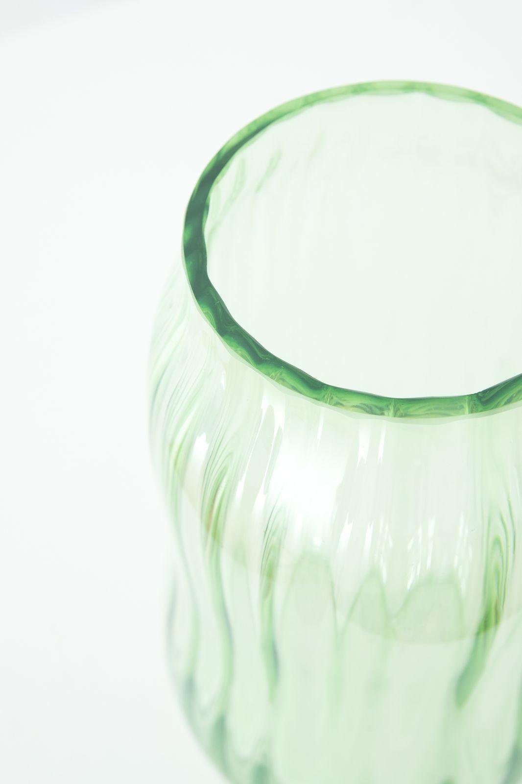 Groene glazen vaas - Homeland | Sissy-Boy
