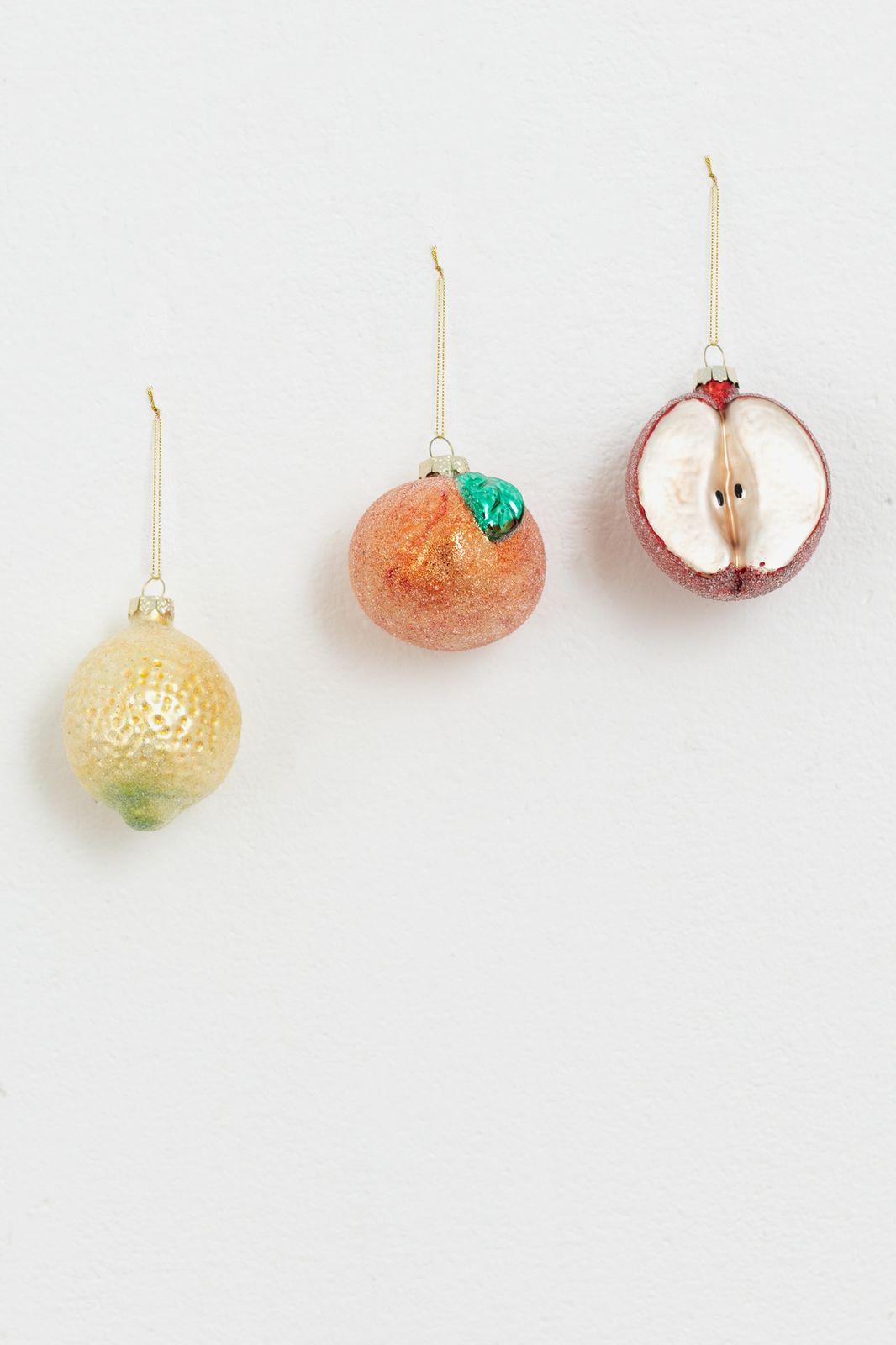 Fruit ornamenten set 3 stuks - Homeland | Sissy-Boy