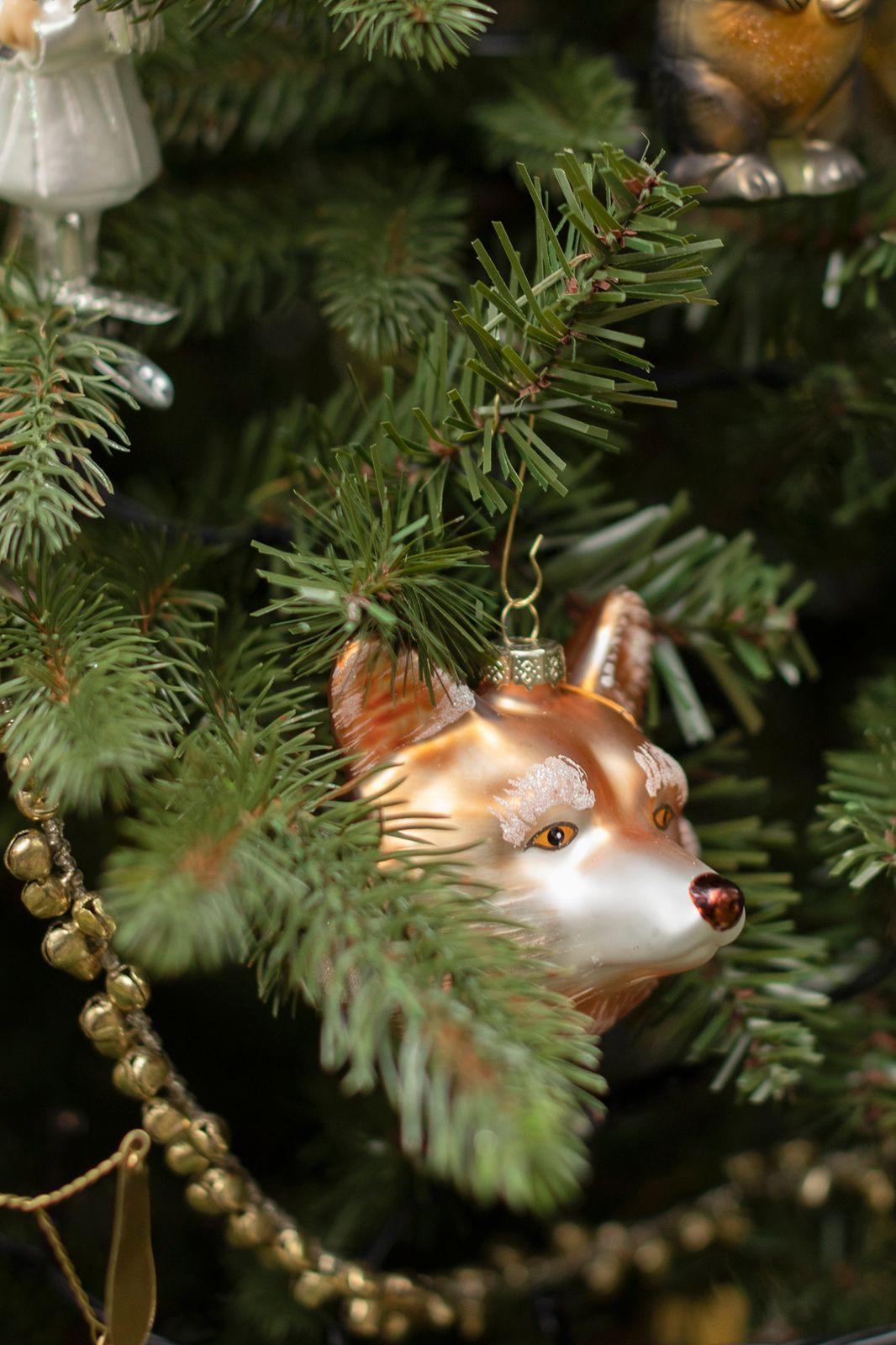 Kerst ornament vossenhoofd - Homeland   Sissy-Boy