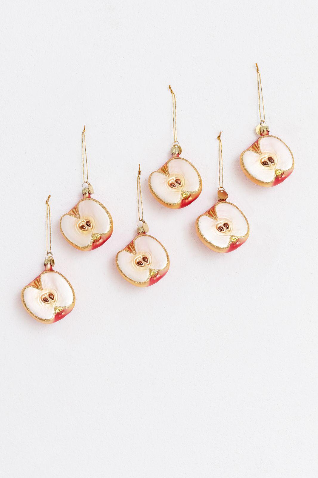 Kerst ornament appel