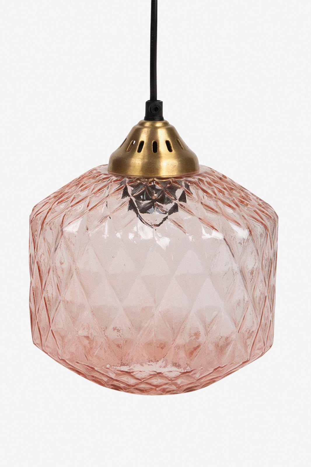 Roze hanglamp ribbel - Homeland | Sissy-Boy
