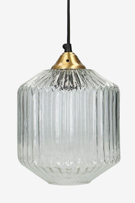 Sissy-Boy Transparant glazen Hanglamp ribbel