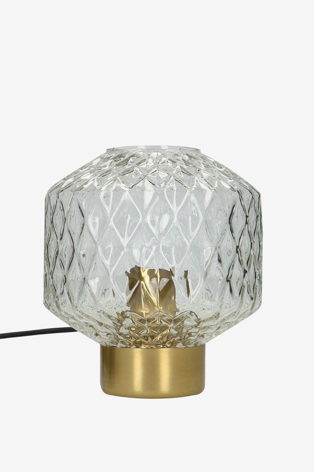 Transparante glazen tafellamp - Homeland | Sissy-Boy