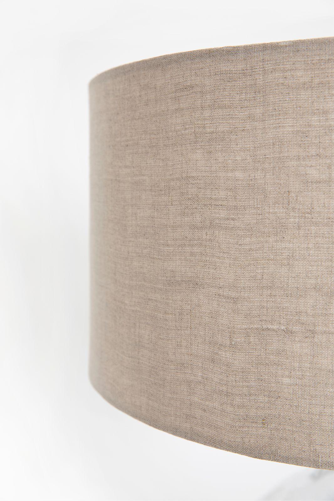 Tafellamp met linnen kap en glazen voet - Homeland | Sissy-Boy