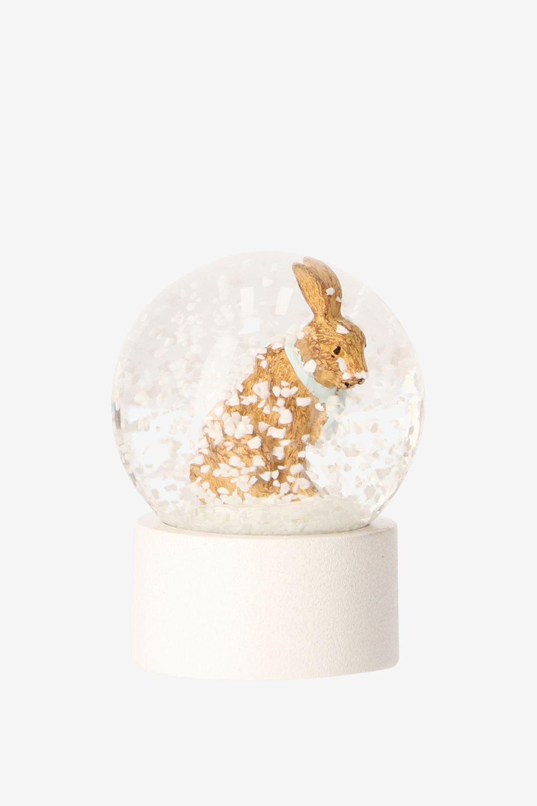 Sneeuwbol met konijn XS