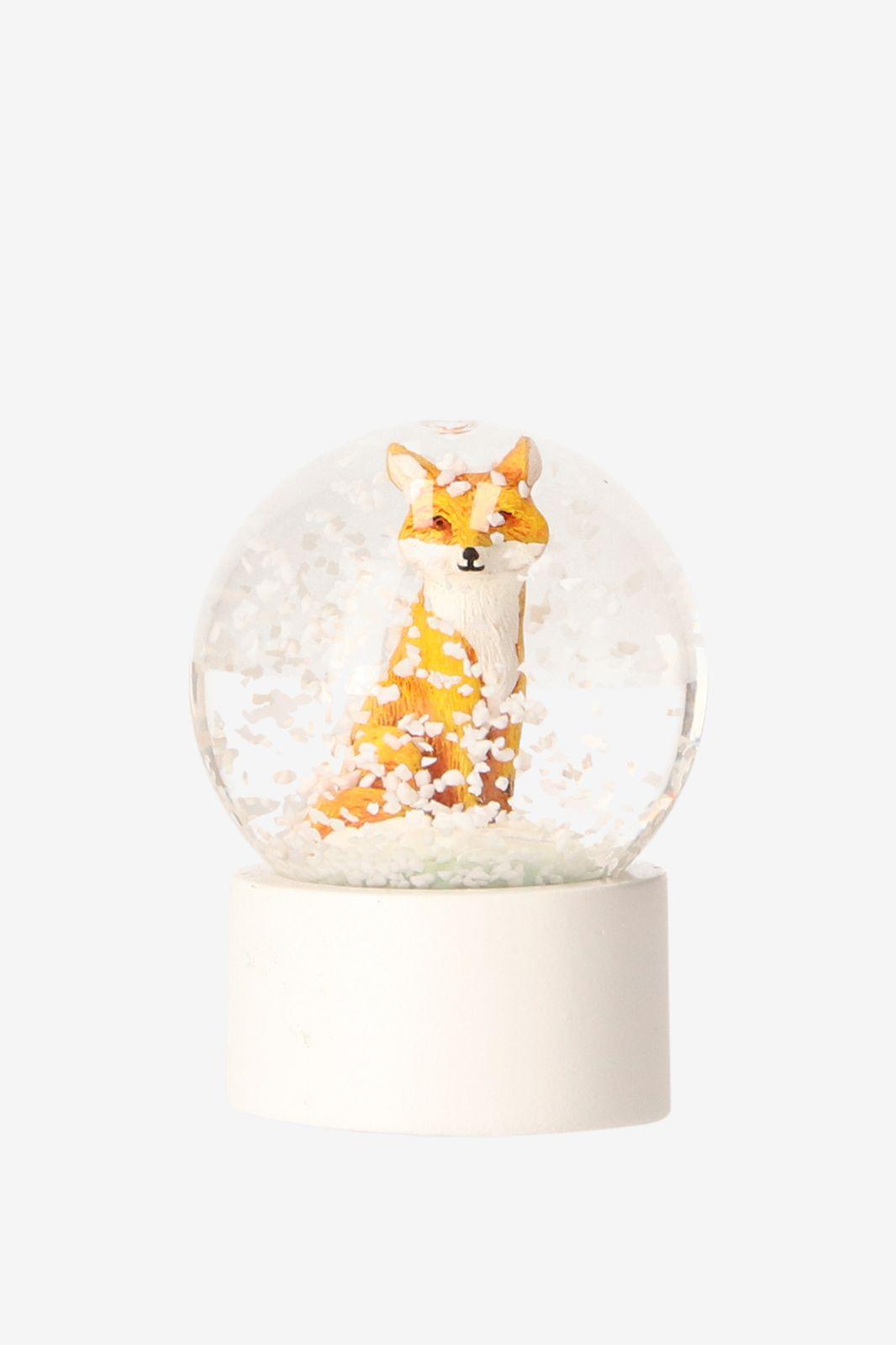 Sneeuwbol met vos XS