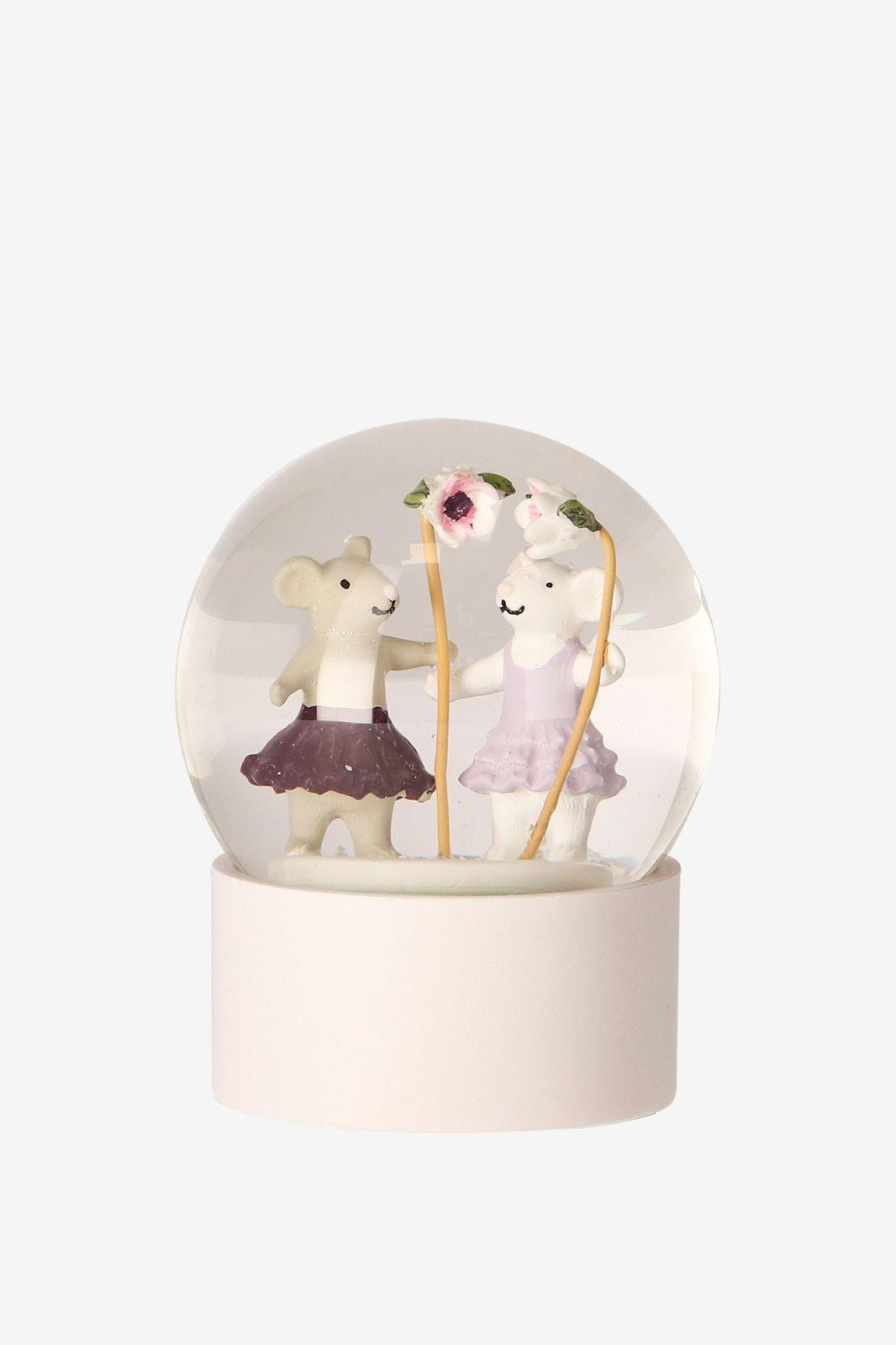 Sneeuwbol muis tutu M