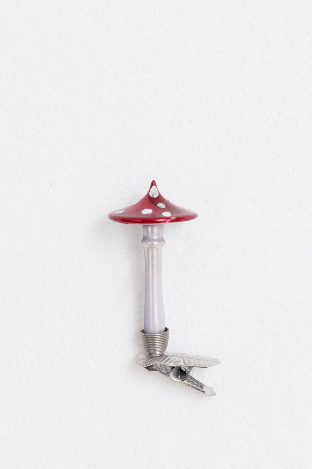 Kerst ornament paddenstoel (6 cm) - Homeland | Sissy-Boy