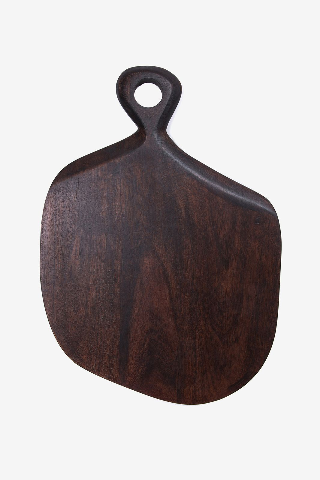Donkerbruine serveerplank acacia hout