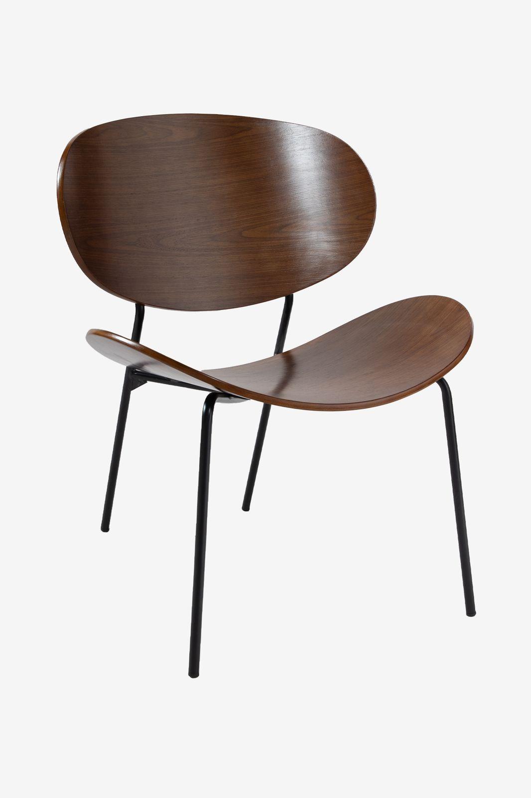 Donkerbruine houten lounge stoel - Homeland   Sissy-Boy