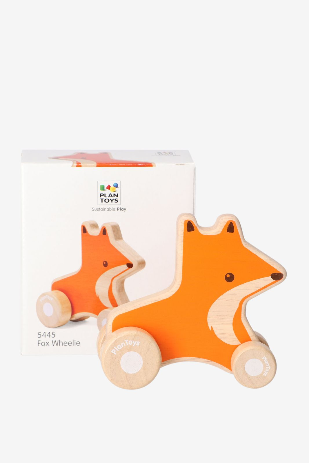 Plan Toys Fox wheelie - Homeland | Sissy-Boy