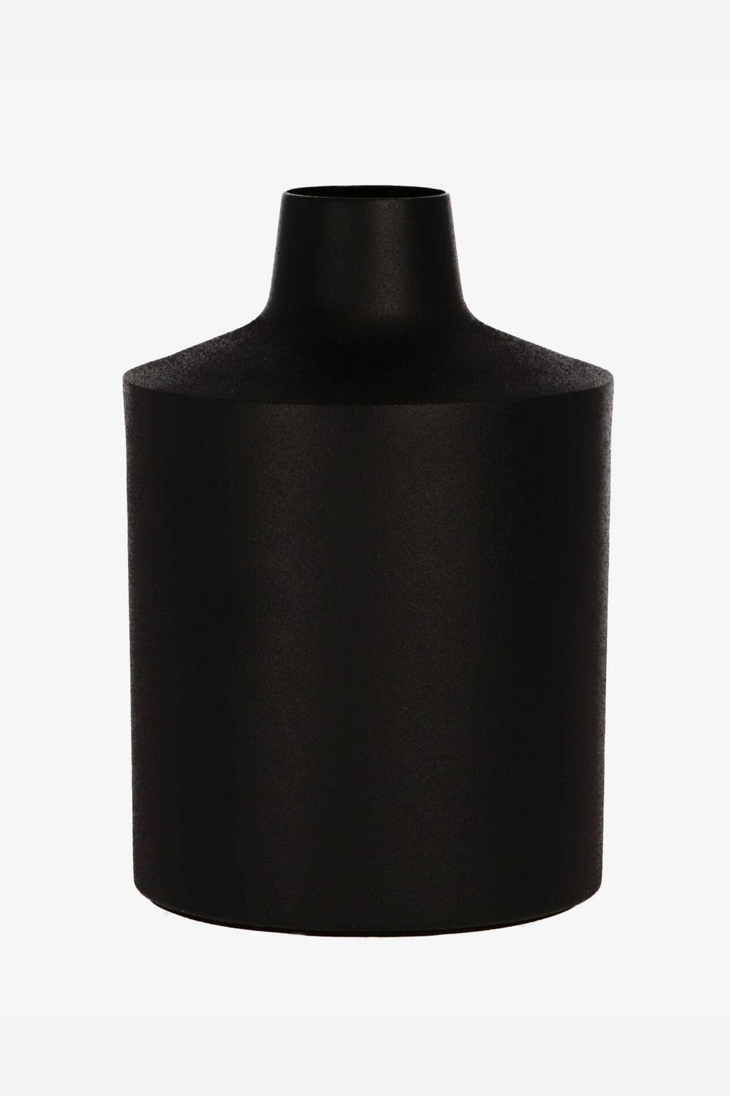 Zwarte vaas met matte coating - Homeland | Sissy-Boy