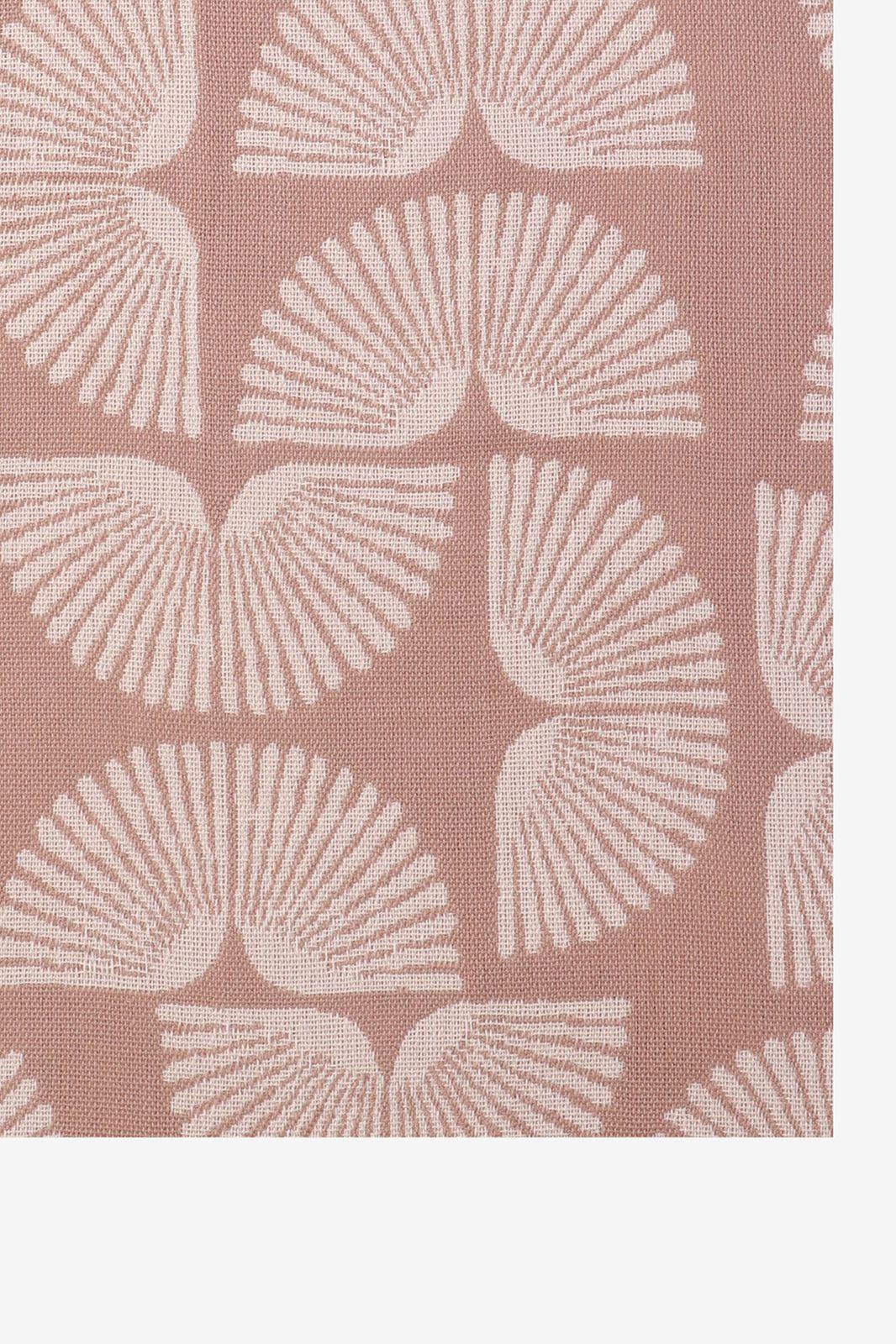Bruine/roze deken native fan