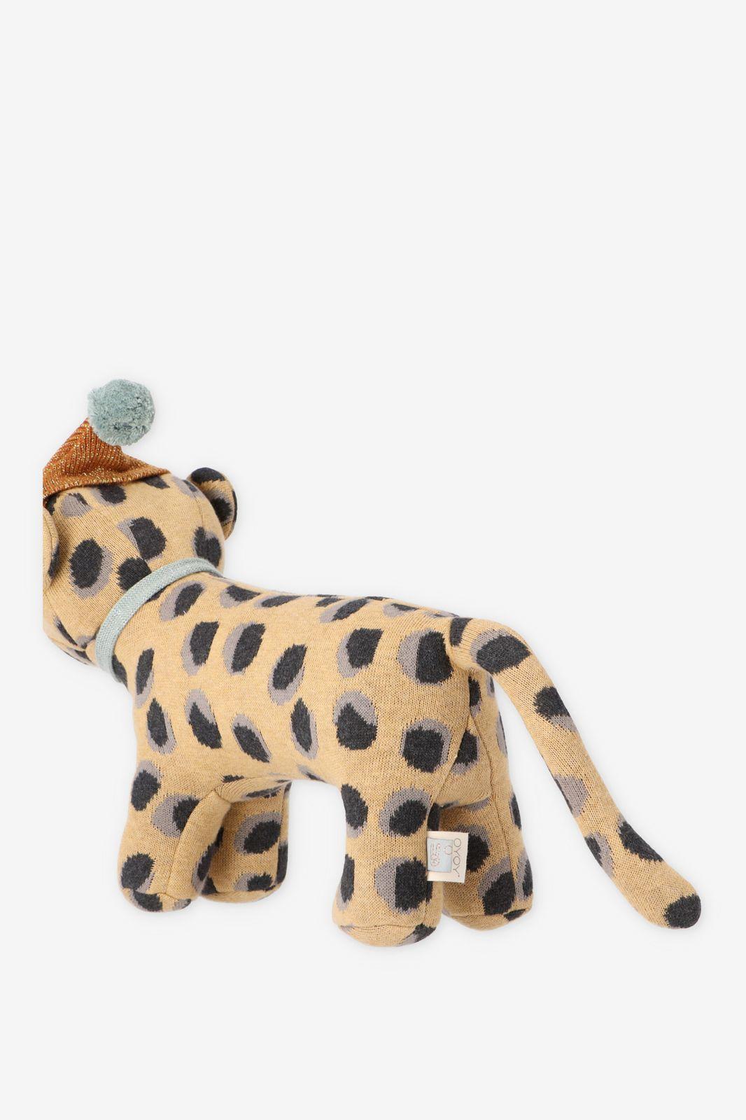 Luipaard knuffelbeest met muts - Homeland | Sissy-Boy