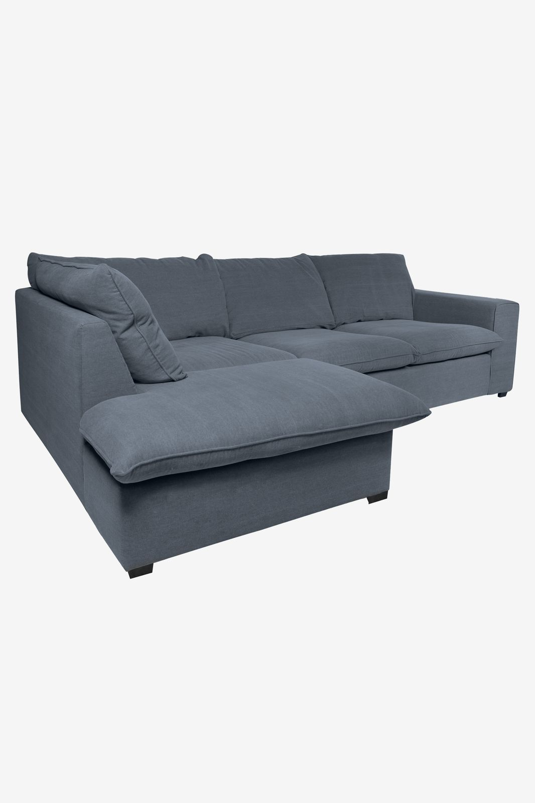 Baron bank 2.5-zits lounge links donkerblauw