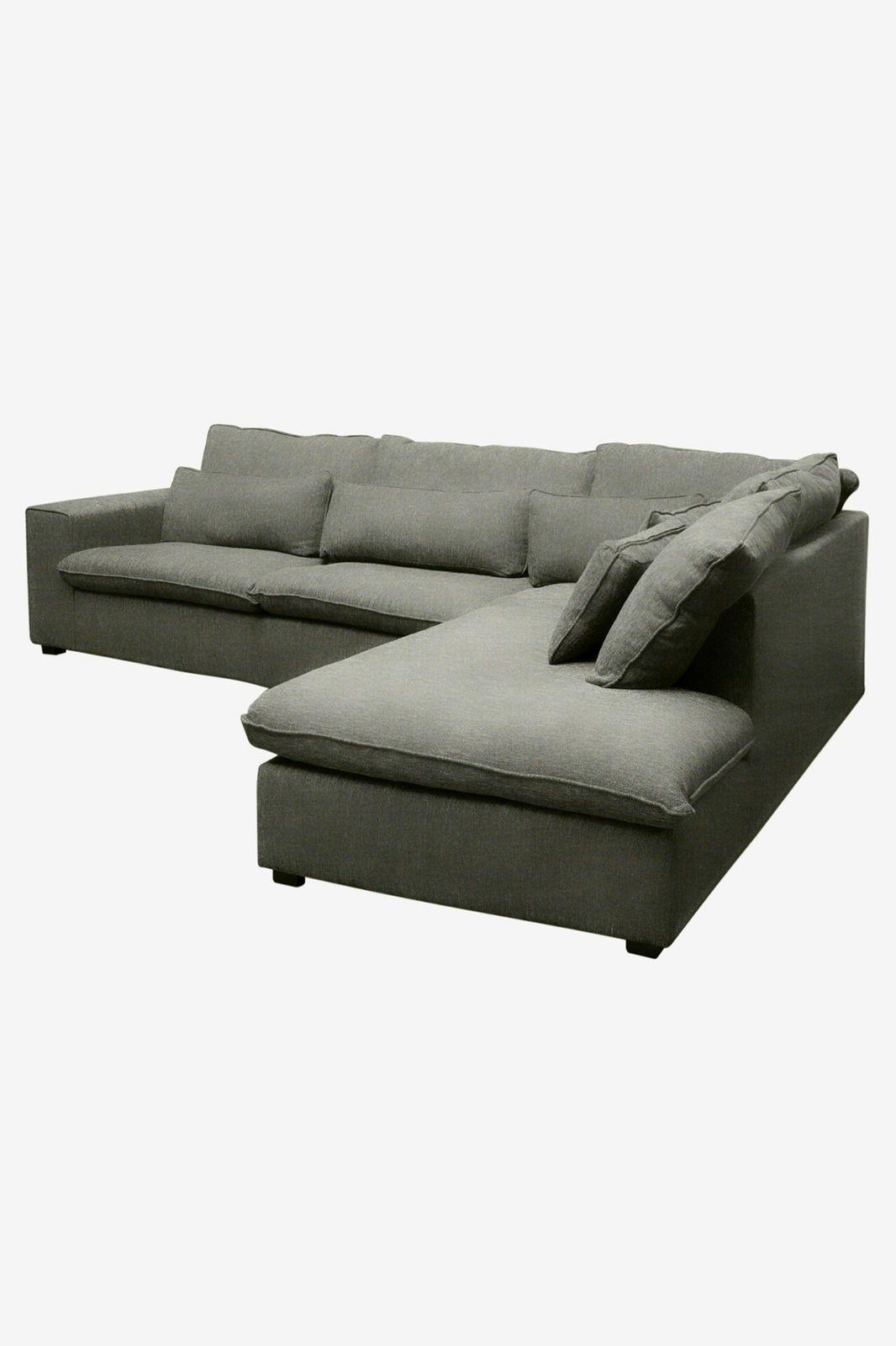 Baron bank 3.5-zits lounge rechts donkergroen