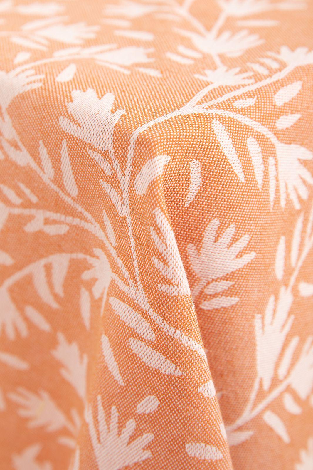 Oranje hamamdoek met all over bloemen dessin - Homeland | Sissy-Boy