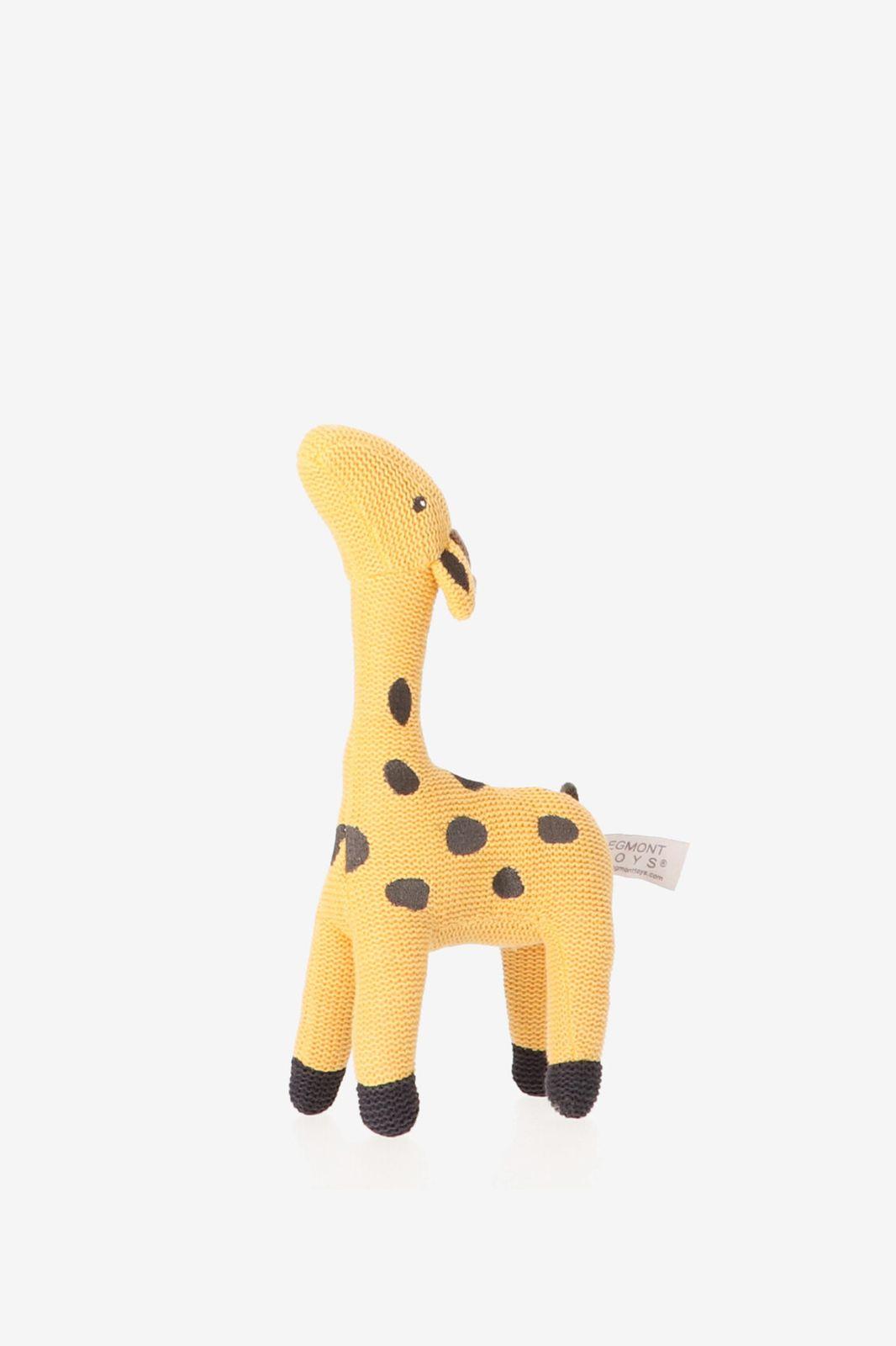Gebreide knuffel giraffe