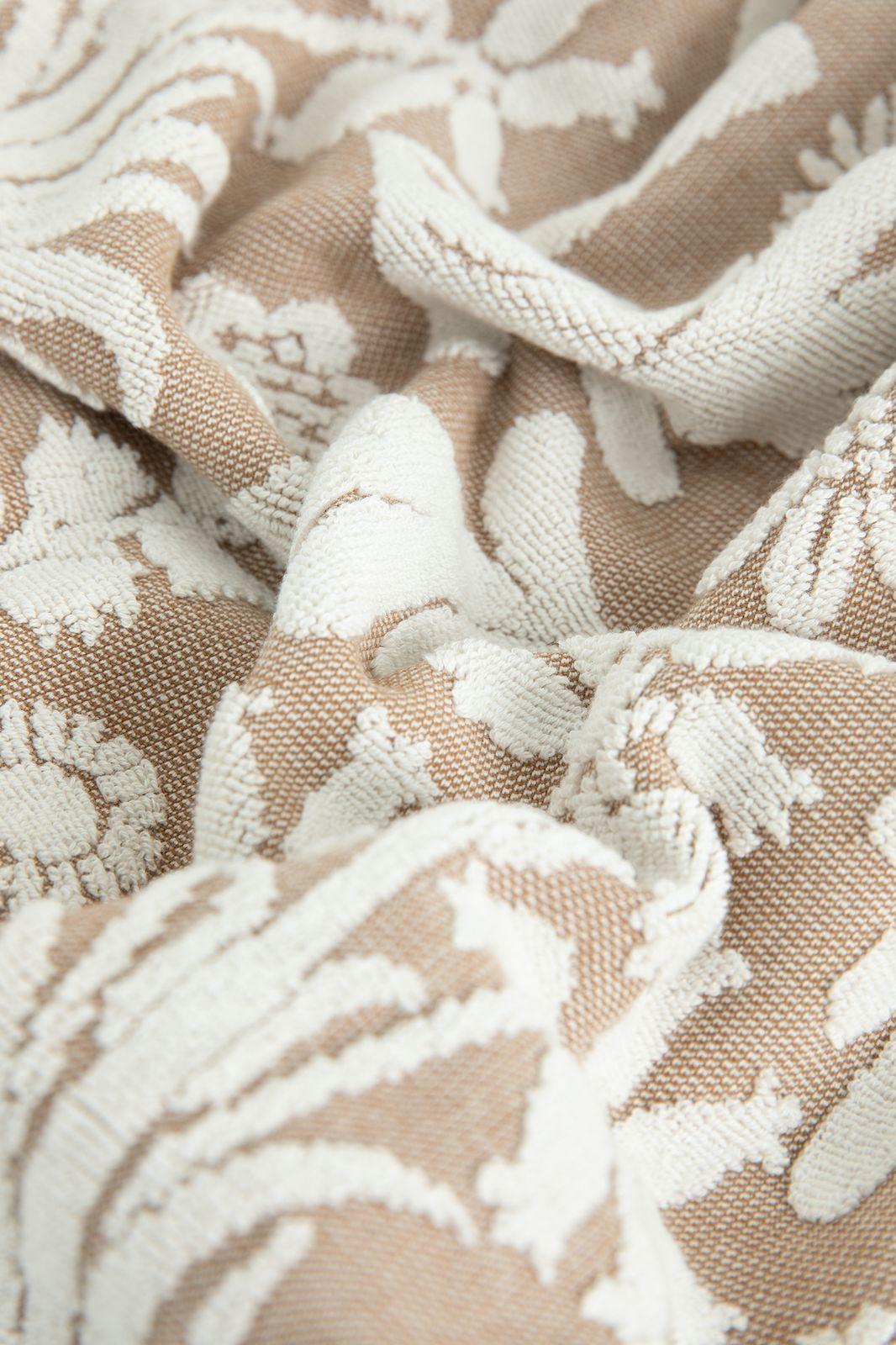 Handdoek beige met bloemenprint - Homeland | Sissy-Boy