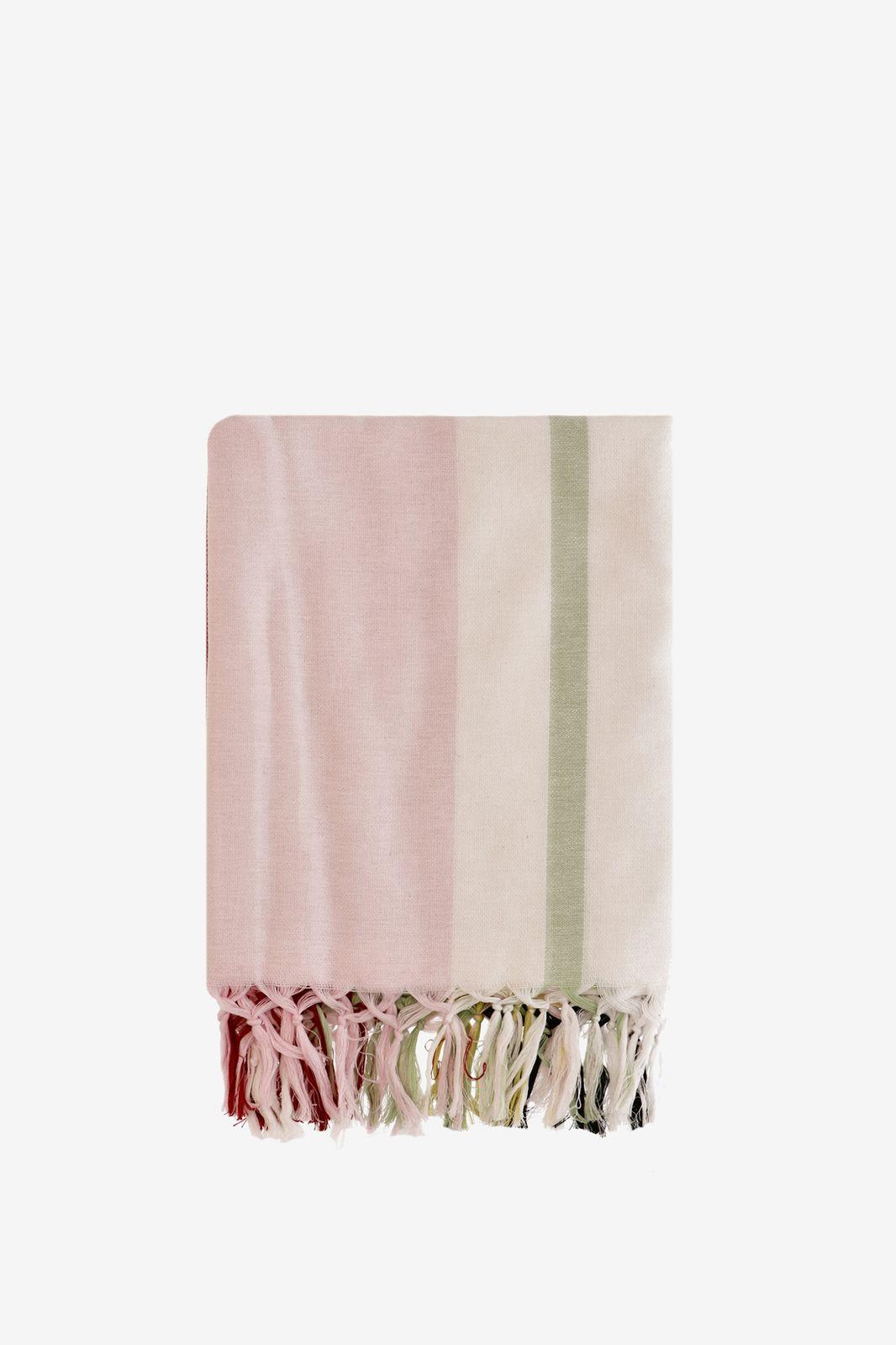 Multicolored hamamdoek met strepen