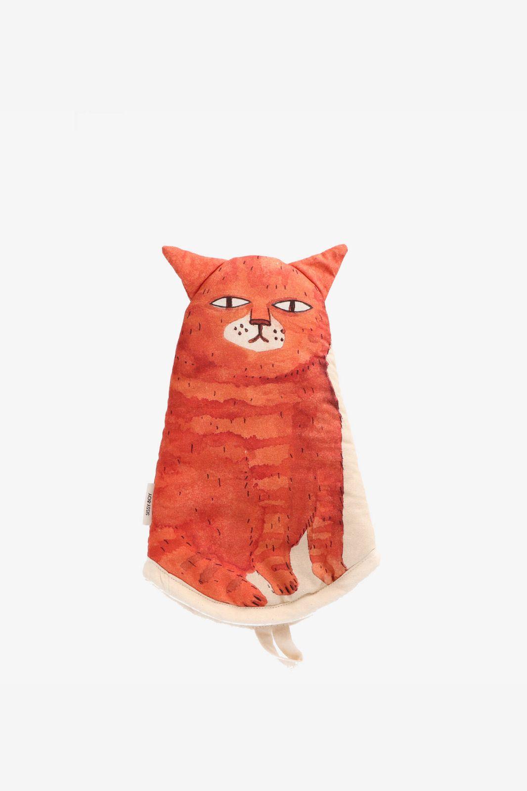 Oranje ovenwant kat
