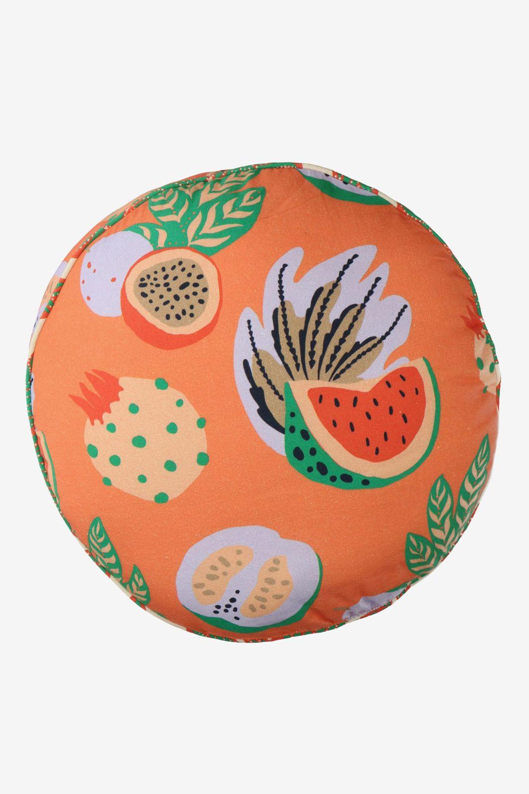Oranje tuinkussen rond fruit - Homeland | Sissy-Boy