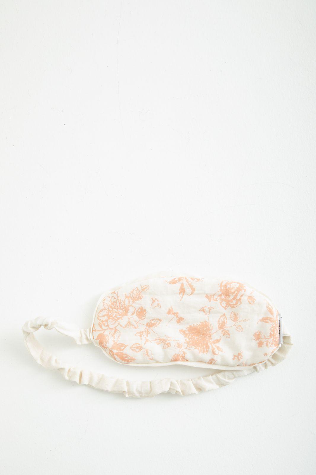 Oranje slaapmaskertje met bloemenprint - Homeland | Sissy-Boy