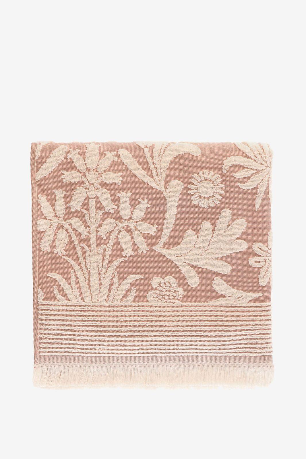 Handdoek roze met bloemenprint - Homeland | Sissy-Boy