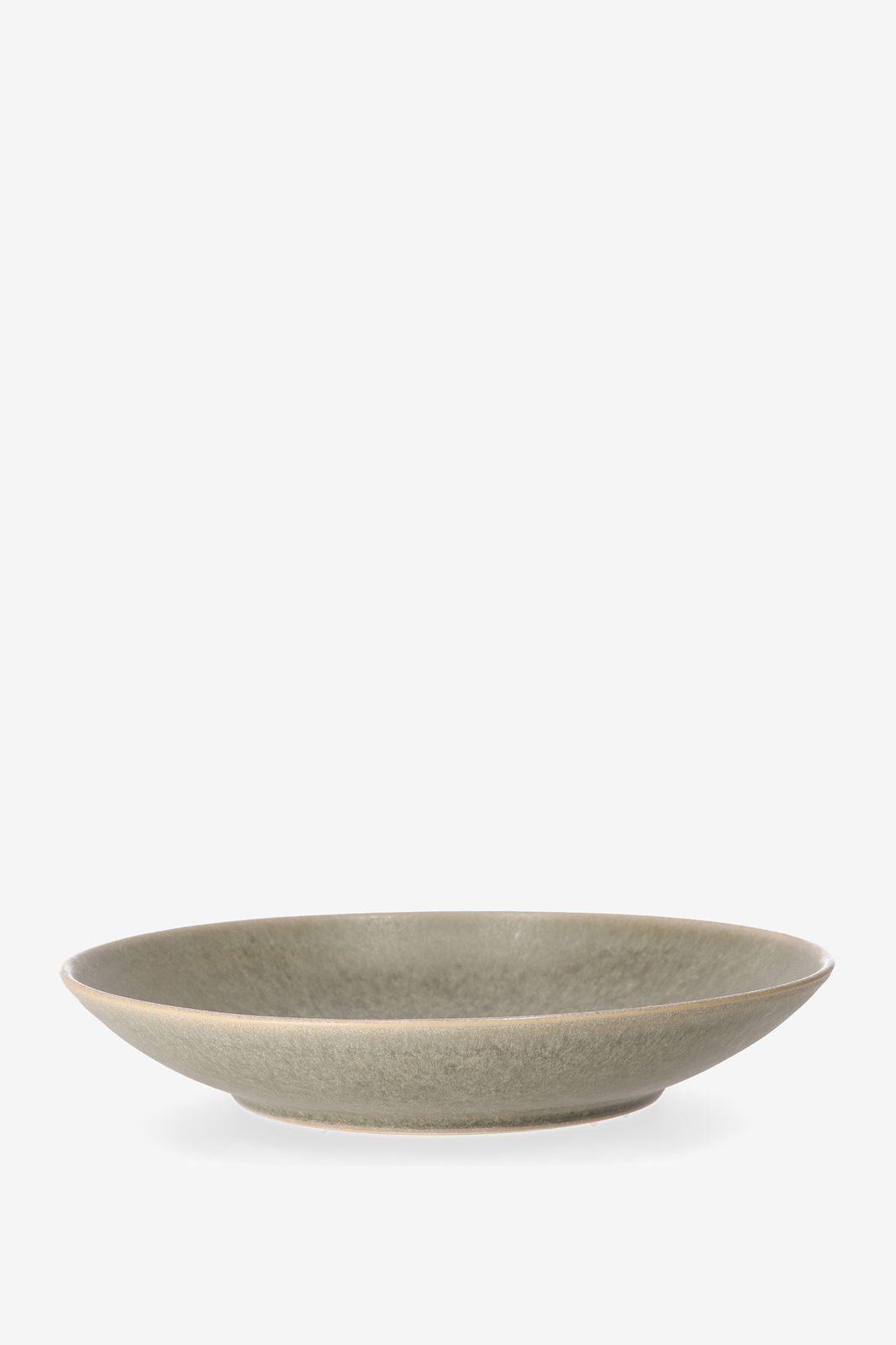 Groen stoneware pastabord foresta