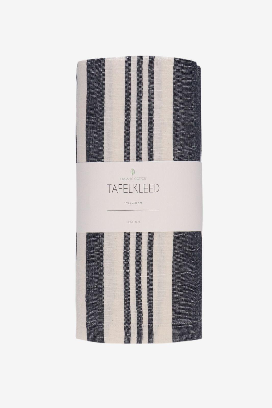 Tafelkleed linnen stripe - Homeland   Sissy-Boy
