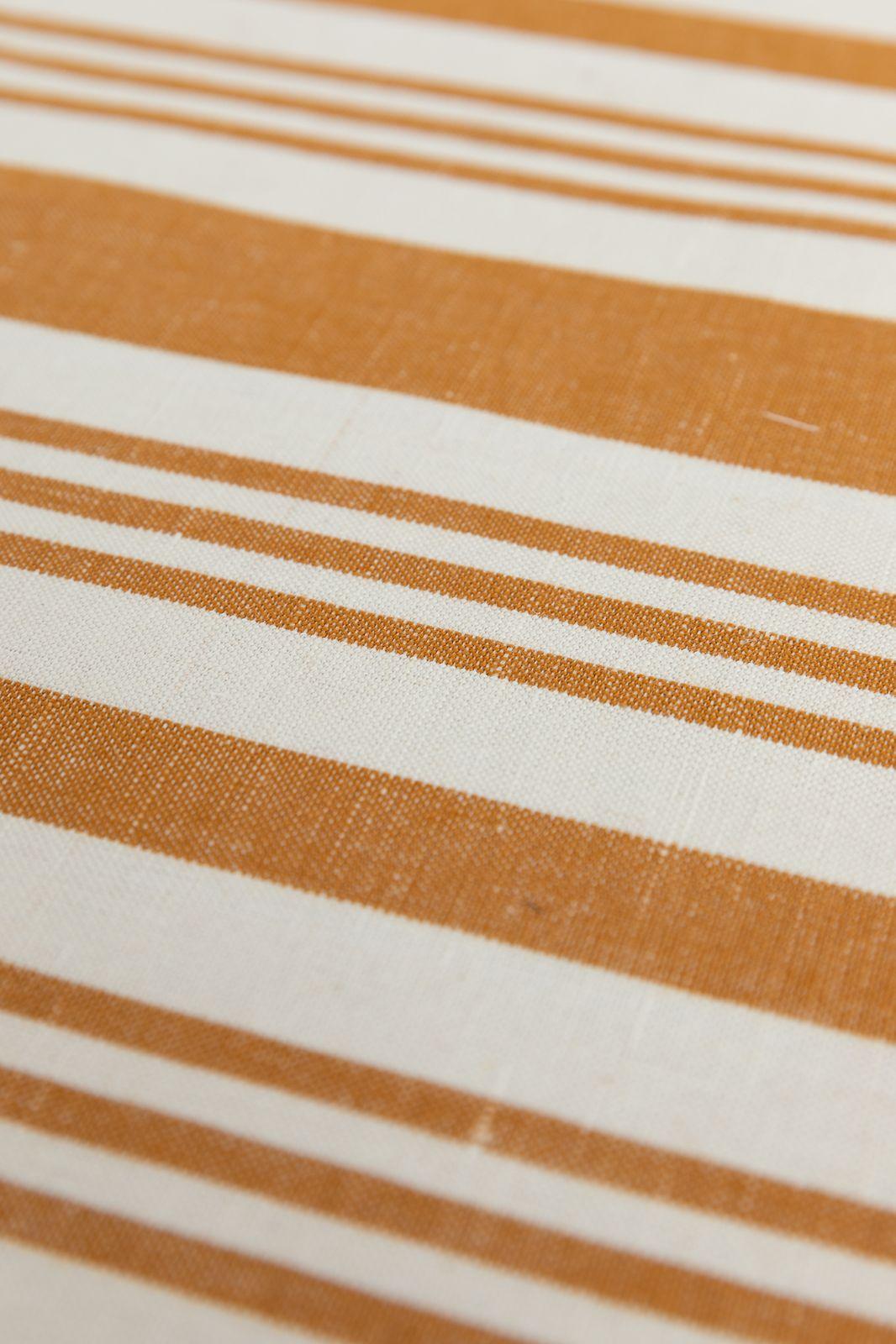Placemat met karamel strepen set van 2